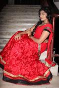 Sowmya glamorous half saree photos-thumbnail-7