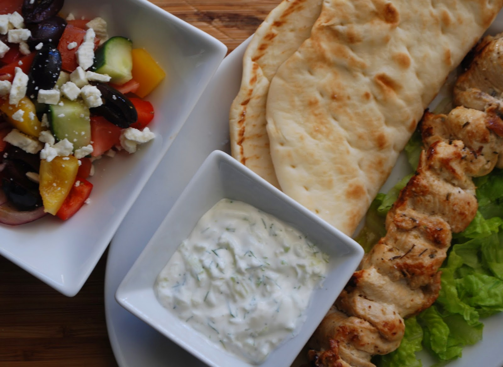 MyEyeQ: Studio 5: It's all Greek Chicken Souvlaki