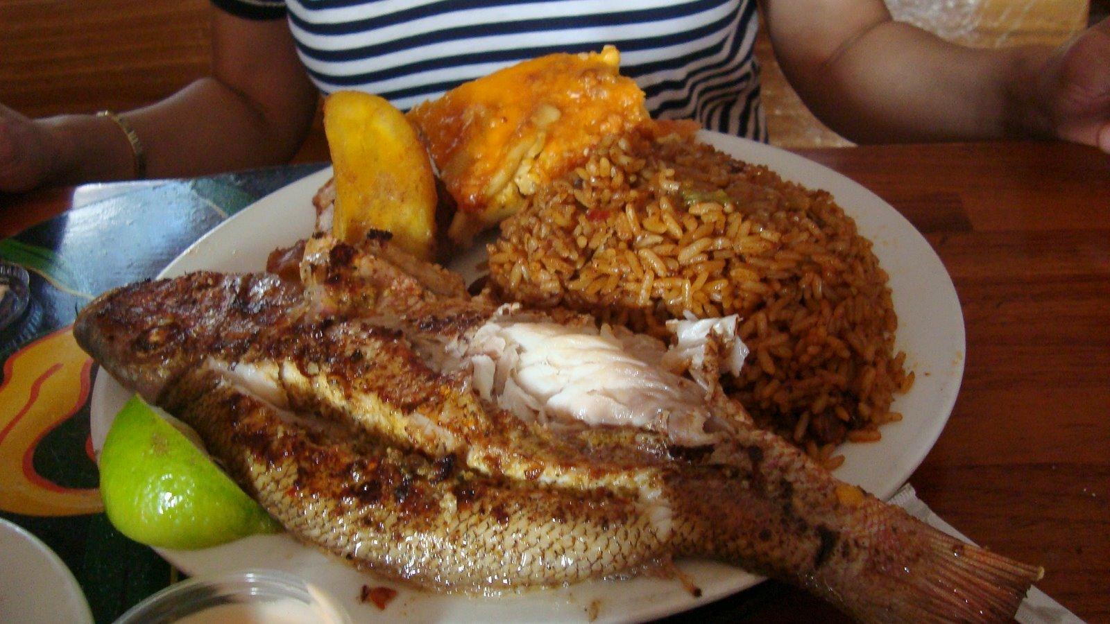 Bahamas eats oh andros at fish fry for Fish fry bahamas