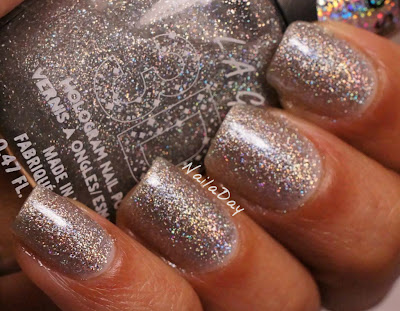 NailaDay: L.A. Girls 3D Effects 3D Silver