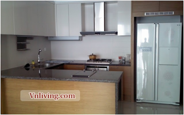 Xi apartment for rent in Thao Dien 3 bedrooms fully furniture