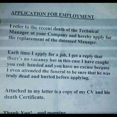 Epic Cover Letter