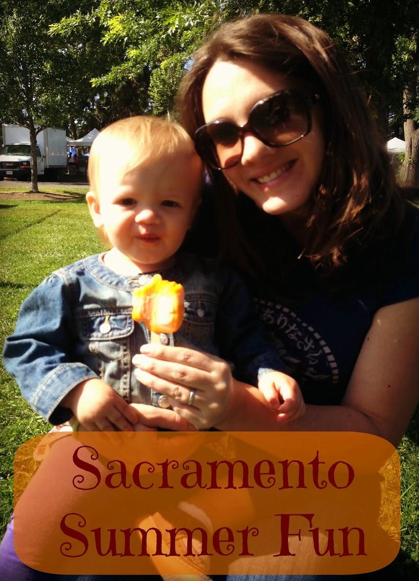 Summer fun near Sacramento