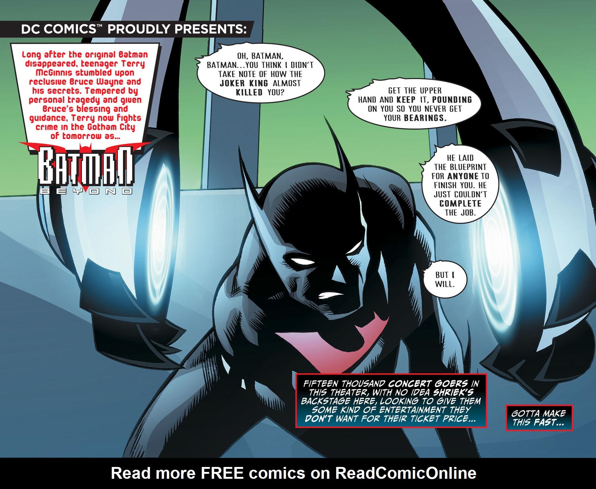 Batman Beyond (2012) Issue #22 #22 - English 3
