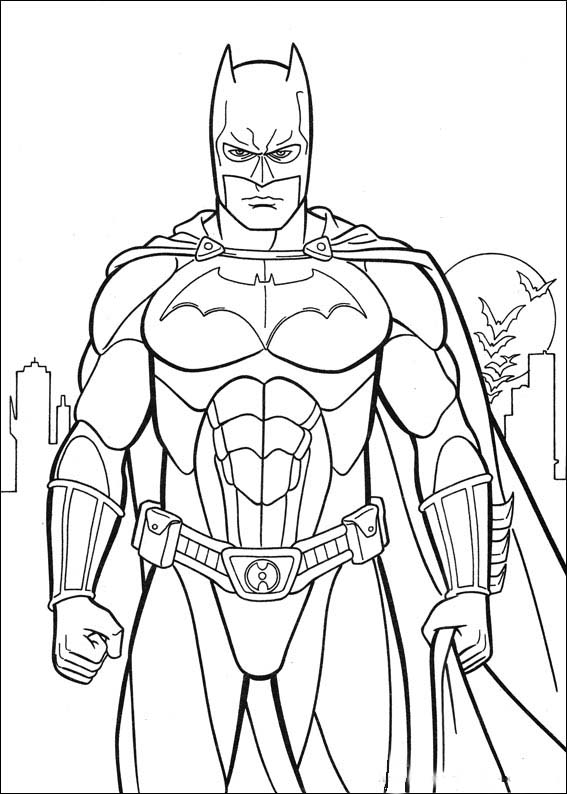Batman coloring picture 5