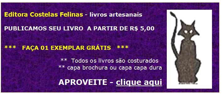 PUBLIQUE SEU LIVRO - A PARTIR DE R$5,00 **** Faça 01 exemplar GRÁTIS