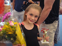 5 year award at dancing school