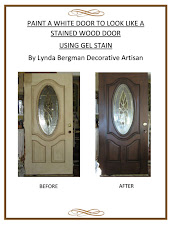 PAINT A DOOR WITH GEL STAIN ~ E-BOOK VERSION OR PRINTED COPY VERSION