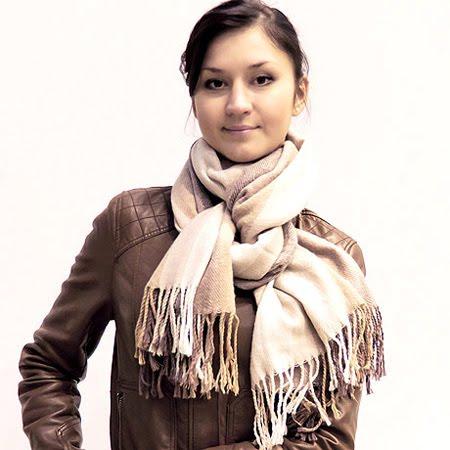 Зимен шал универсално връзване за мъже и жени