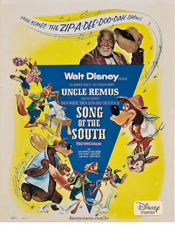 Cartaz do filme A canção do sul (Song of the south)