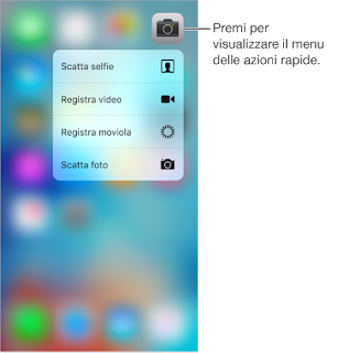 guida 3d touch iphone 6s