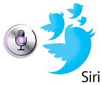 Tweeting via Siri