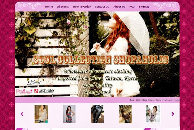 soul collection shopaholic toko online terpercaya