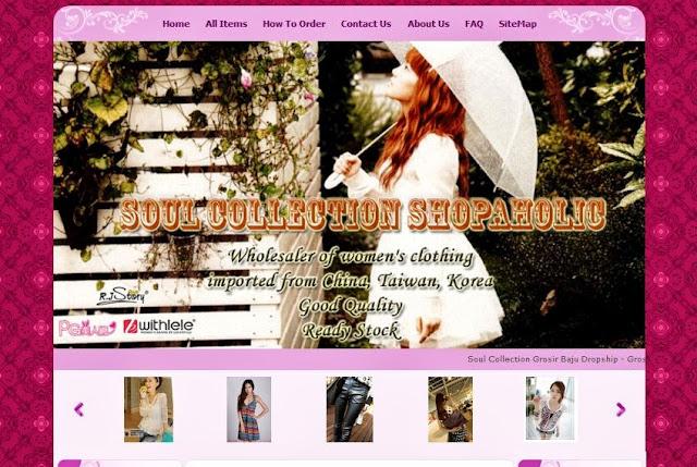 soul collection shopaholic toko online terpercaya
