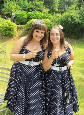 Sister bridesmaids