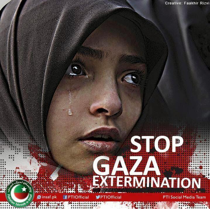 ¡¡¡Alto al genocidio en Gaza!!!