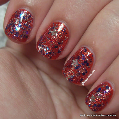 Julep America over Deborah Lippmann Footloose