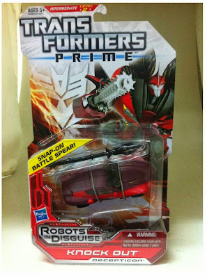 Transformers Prime Knock Out in package
