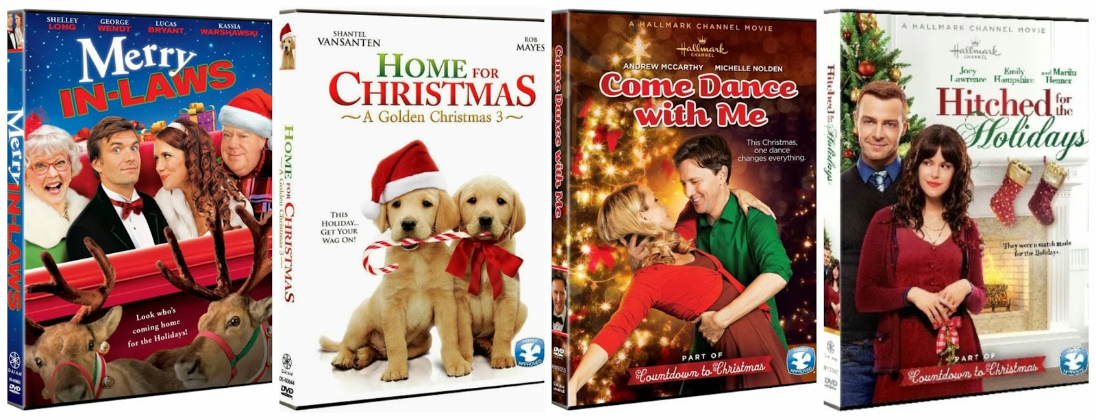 holiday christmas 4 pack review and giveaway - Golden Christmas 3
