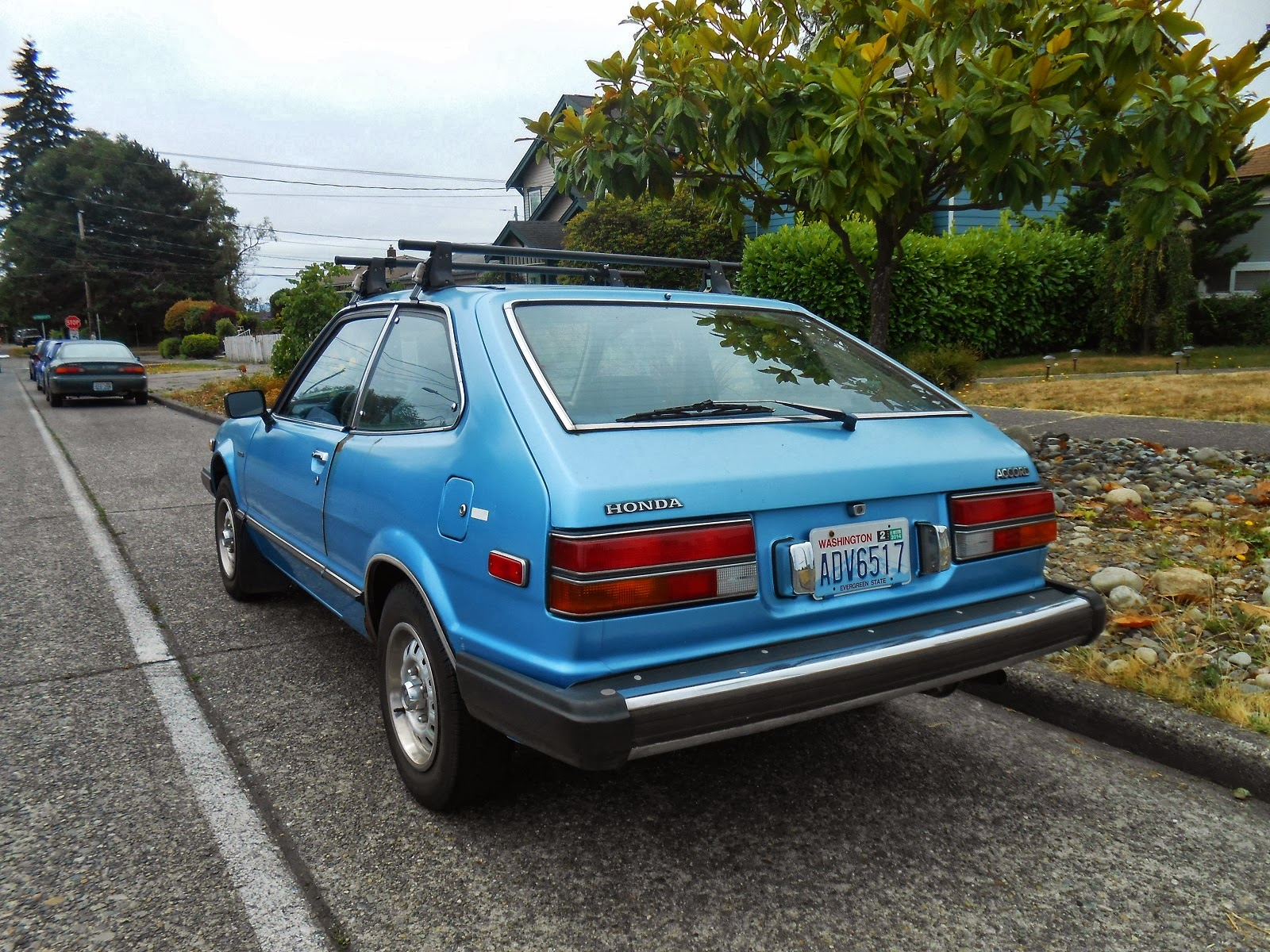 Third Gen Accord >> Seattle's Parked Cars: 1981 Honda Accord Hatchback