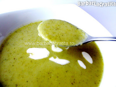 Supa crema de broccoli reteta