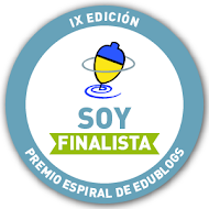 SOMOS FINALISTAS PREMIO ESPIRAL DE EDUBLOG