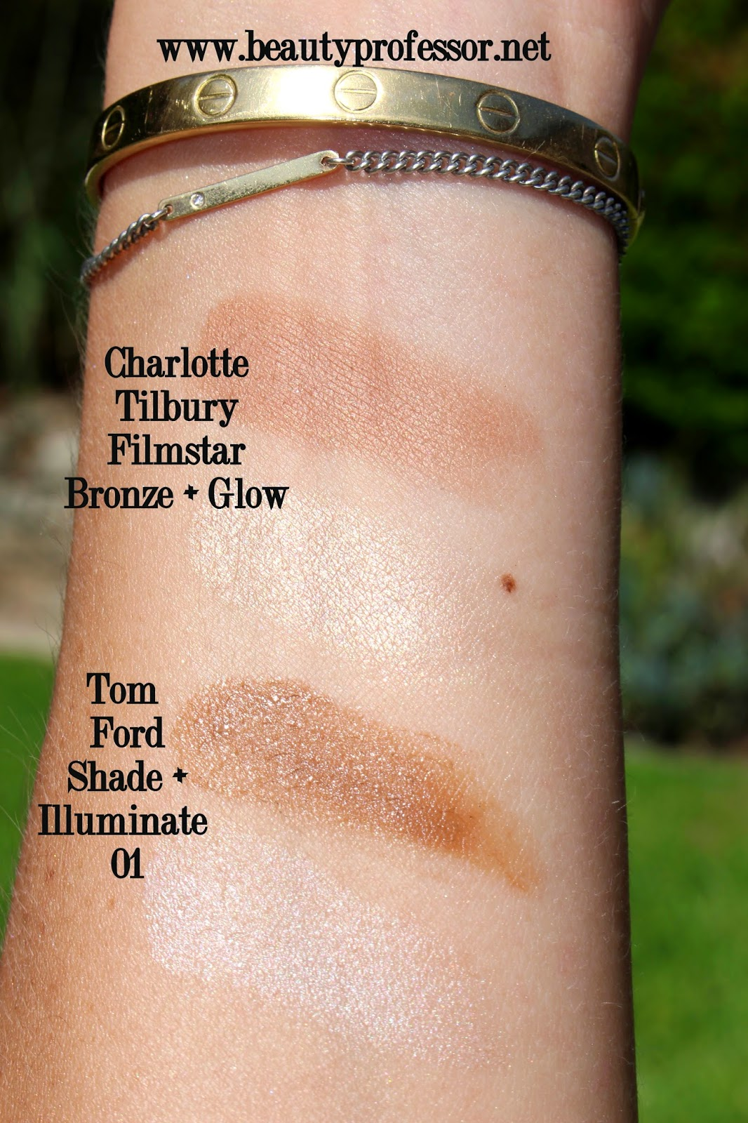 tom ford shade and illuminate swatches