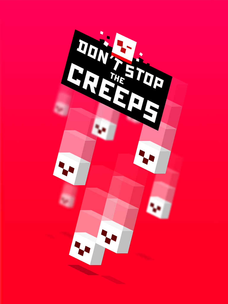 Don't Stop the Creeps Free App Game By Tigrido
