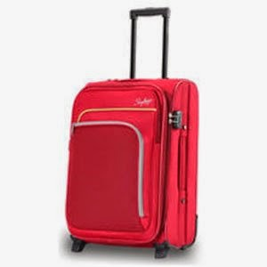 Amazon:Skybags Gypsy 60 cms Hardsided Red Suitcase