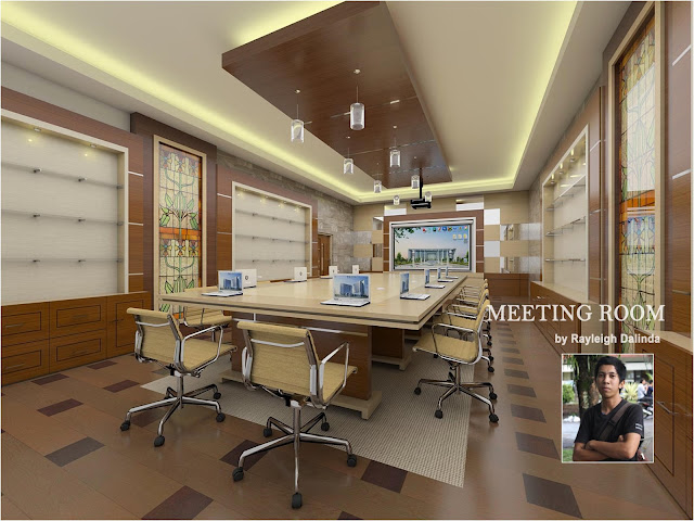 sketchup model vray setting office_meeting_room