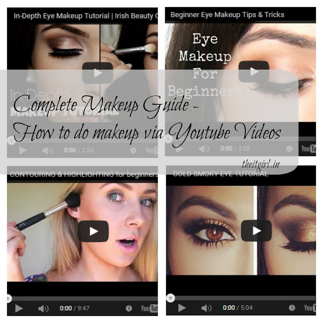theitgirl: How to do complete face makeup