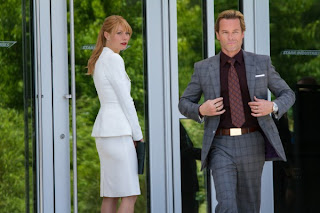 Gwyneth Paltrow (Pepper Potts) e Guy Pearce (Aldrich Killian)