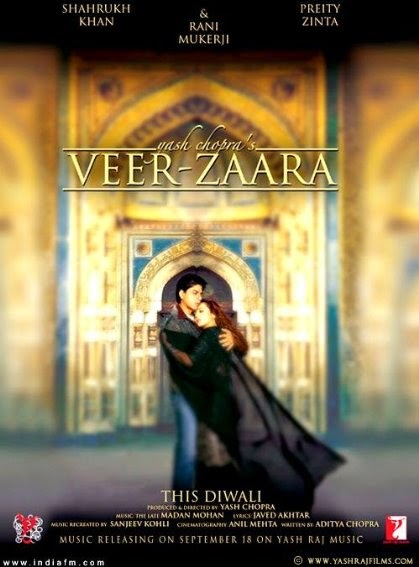 Download Films Veer-Zaara (2004) BRrip 720