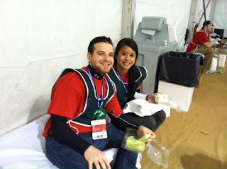 Vitaly Dvoskin in tent