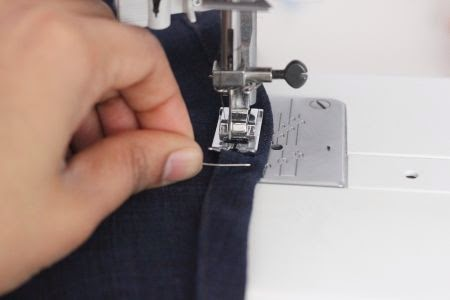 How to tuck fabric for no gathers
