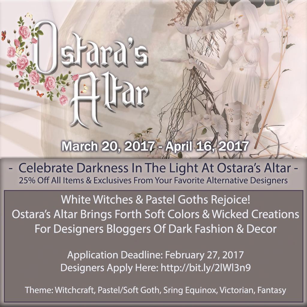 Ostara's Altar Event