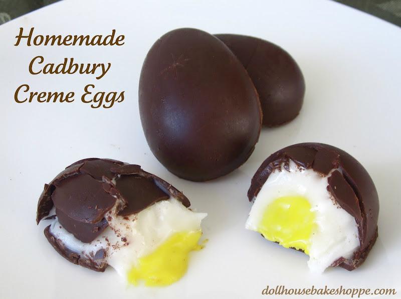 Lindsay Ann Bakes: Homemade Cadbury Creme Eggs
