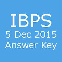 IBPS Clerk Pre Exam Answer Key