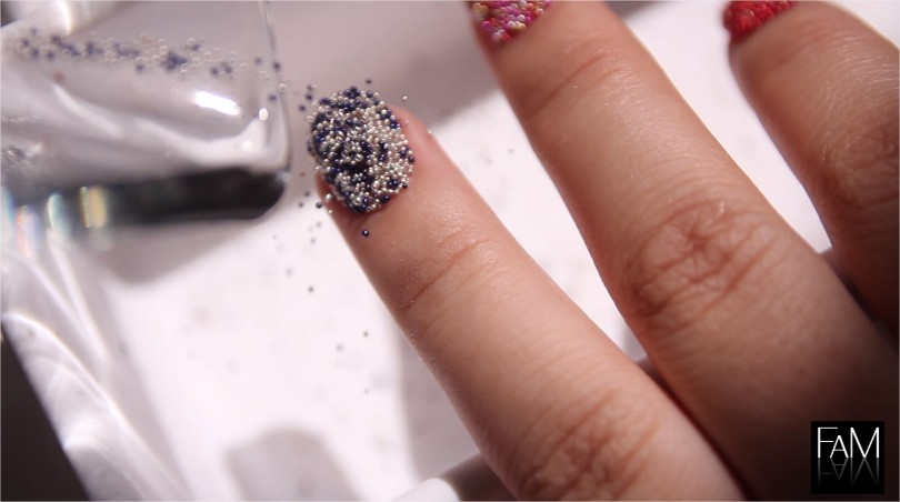 DIY Caviar Nails On A Budget