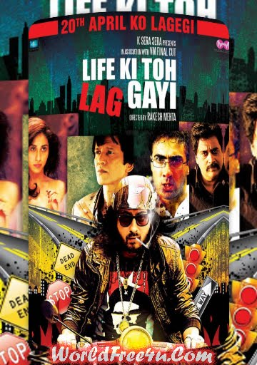Poster Of Hindi Movie Life Ki Toh Lag Gayi (2012) Free Download Full New Hindi Movie Watch Online At worldfree4u.com