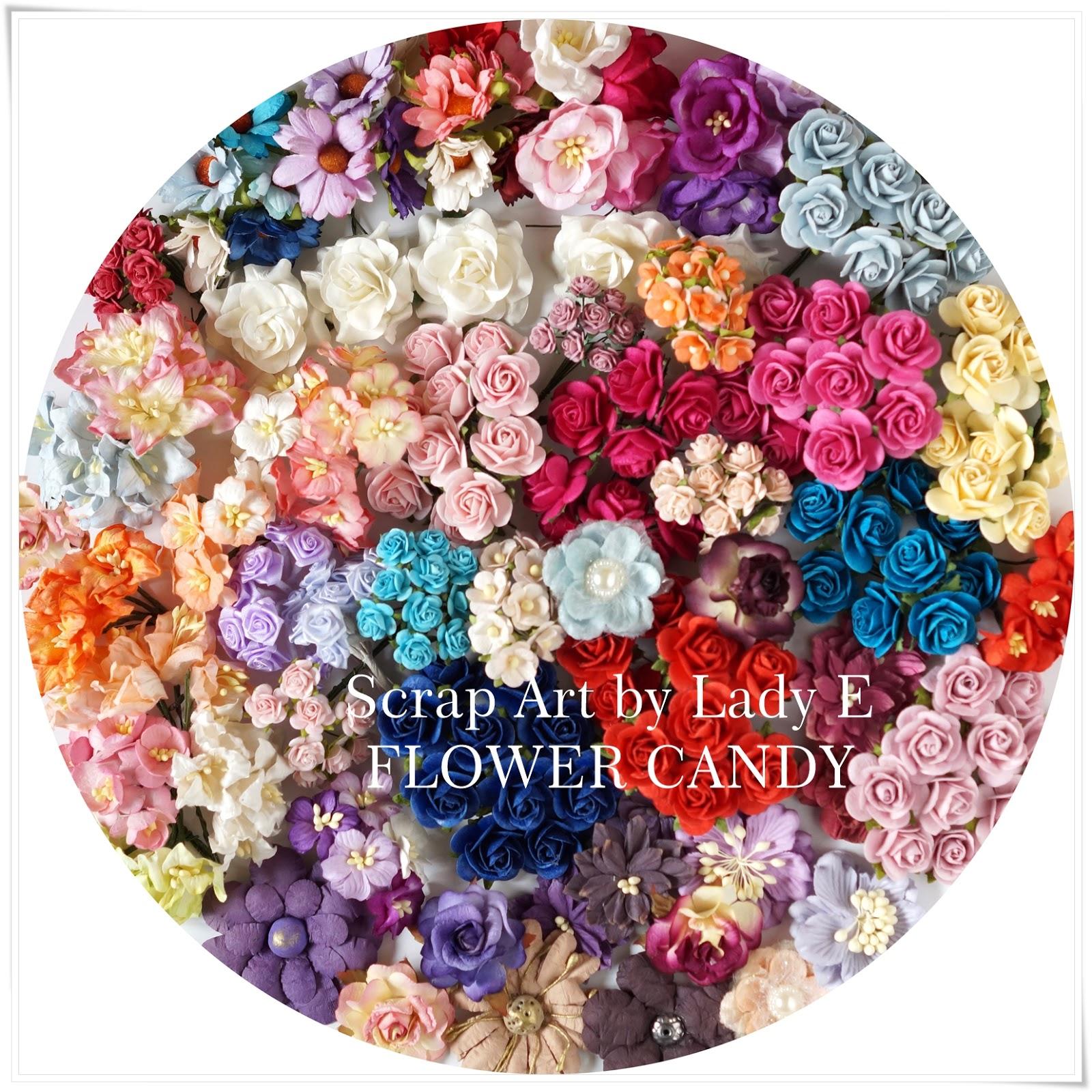 цветочное угощение