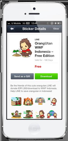 OrangUtan WWF Indonesia Free edition