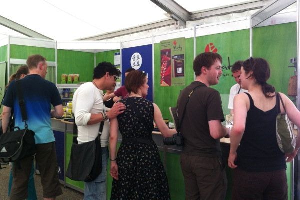 VegFest Bristol 2012 - stall - Topas Tofu