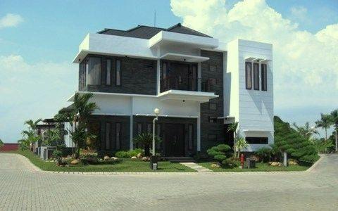 desain rumah modern ideal