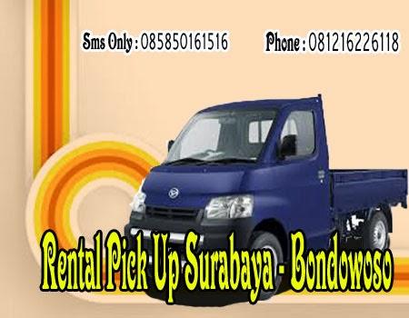 Rental Pick Up Surabaya - Bondowoso