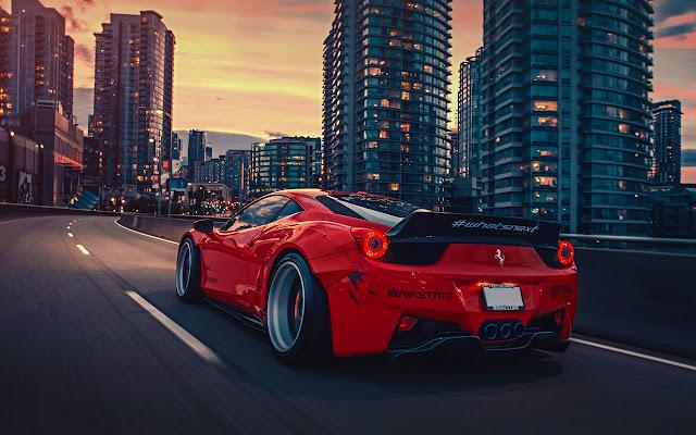 Ferrari 458 Liberty Walk