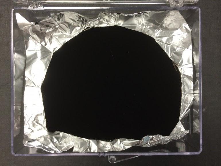 worlds darkest material Vantablack