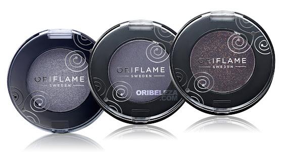 3 novas cores das Sombras de Olhos Pure Colour da Oriflame