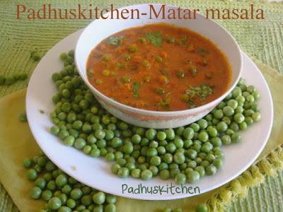 Peas masala gravy