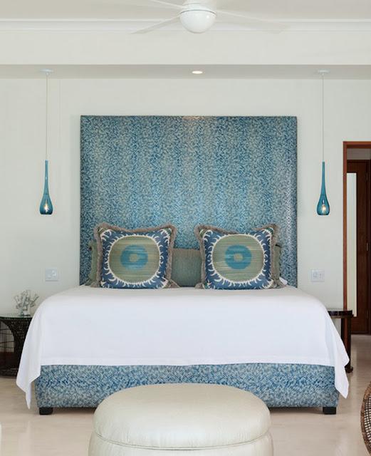 Ev dekorasyon hob mavi yatak odas fikirleri for Cute beach bedroom ideas